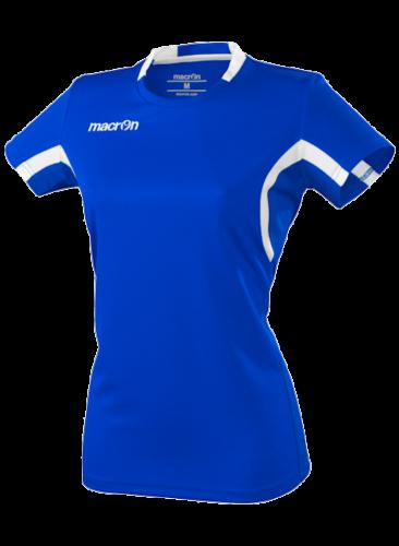 Macron Alkaline Shirt Blauw Wit