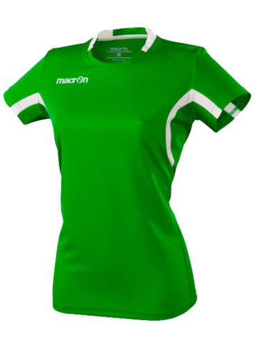 Macron Alkaline Shirt Groen Wit
