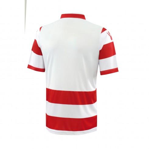 Macron Kepler Shirt Rood Wit Rug