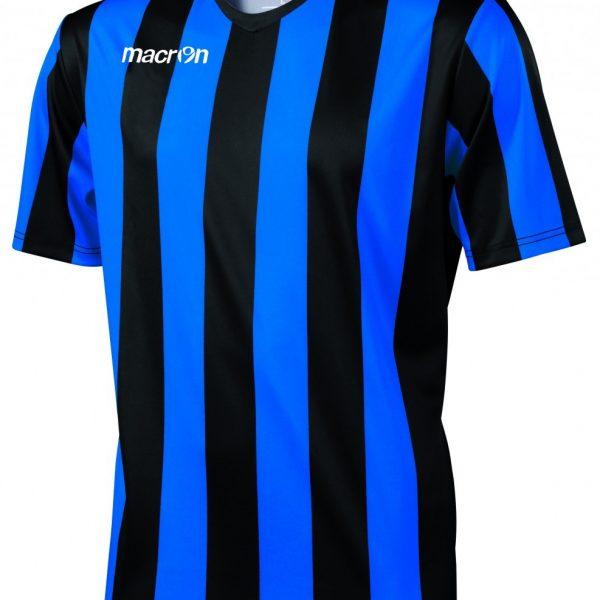 Macron Maia Shirt Blauw Zwart