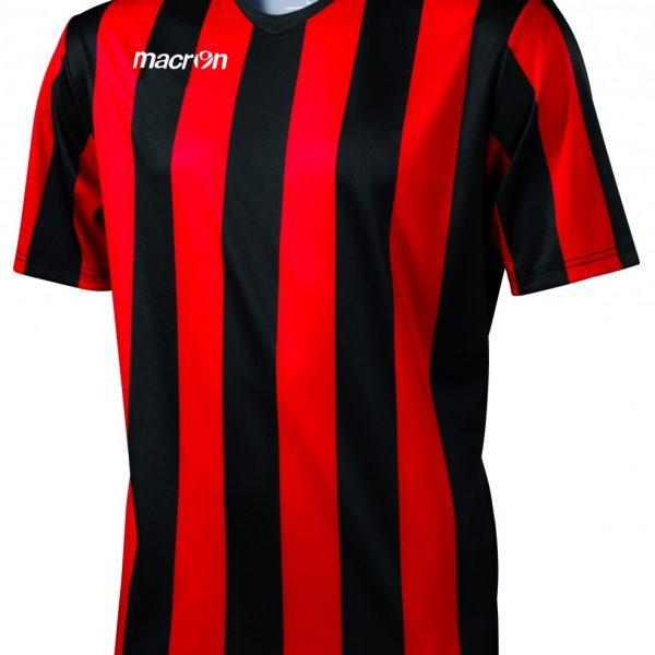 Macron Maia Shirt Rood Zwart