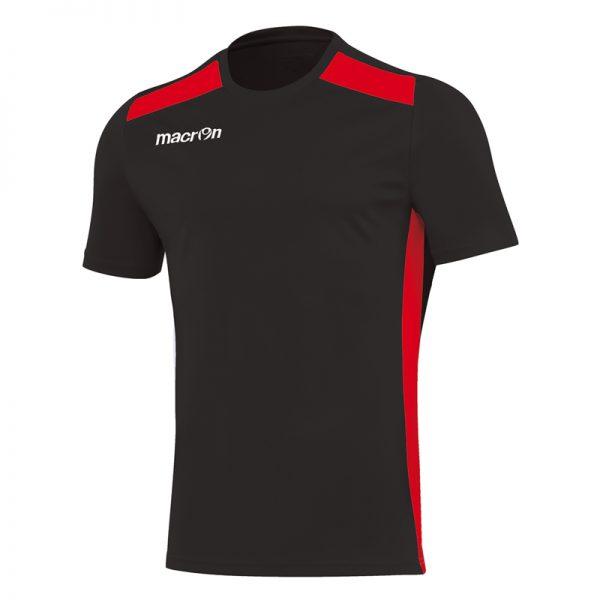 Macron Sirius Shirt Zwart Rood