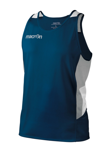 Macron Gordon Running Singlet Navy