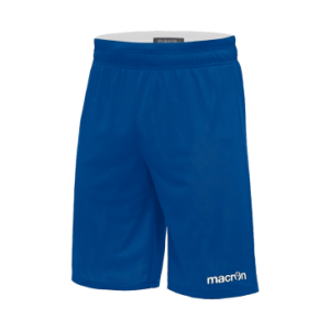 Macron Denver reversible Basketbalbroek Blauw wit