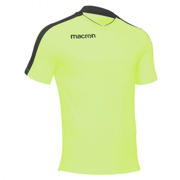 Macron Earth Shirt Neon Geel Zwart