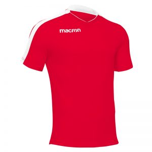 Macron Earth Shirt Rood Wit