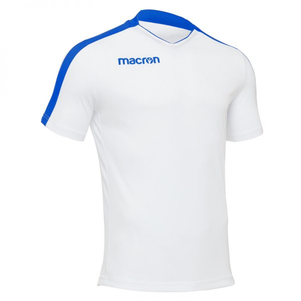 Macron Earth Shirt Wit Blauw