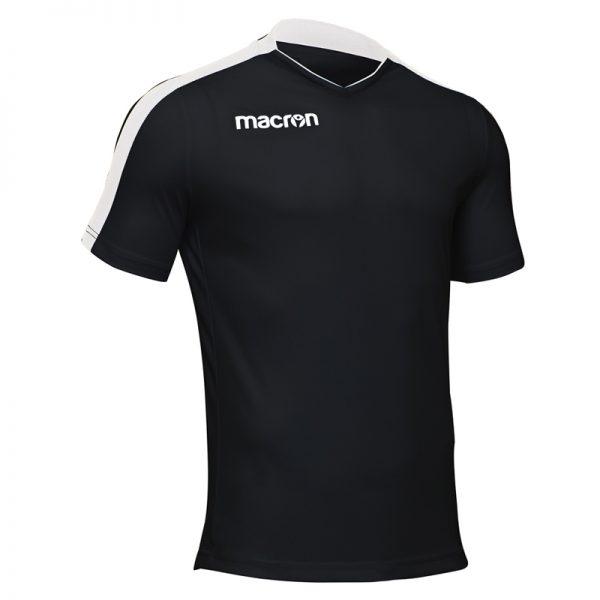Macron Earth Shirt Zwart Wit