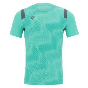 Macron Rodders Shirt Turquoise Voorzijde