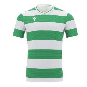Macron Alcyon Shirt Groen Wit Voorzijde